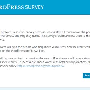 WordPress Anketi [2020]