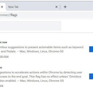 Chrome Actions: adres çubuğundan çalıştırmak