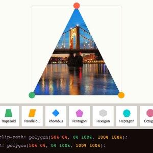 CSS'de clip-path kullanımı