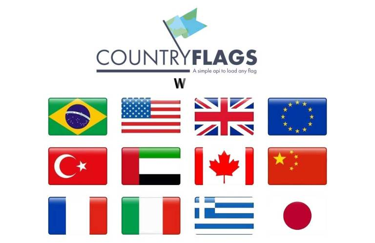 Get Instant Country Flags
