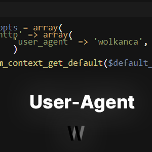 PHP readfile için User-Agent kullanmak