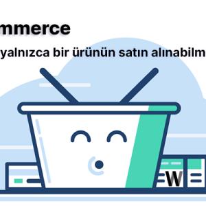 WooCommerce sepette maksimum ürün sayısını belirlemek