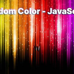 Rastgele renk, JavaScript