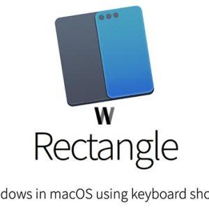 macOS için Rectangle uygulaması