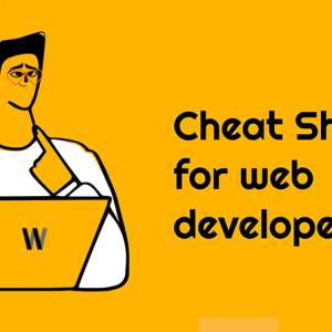 Zaman kazandıran Cheat Sheets sayfaları
