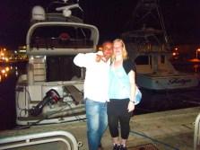 Am Yachthafen mit Amir