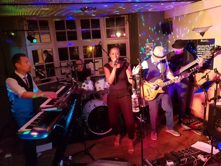 Music events at the Wollaston Inn Alka and Chris
