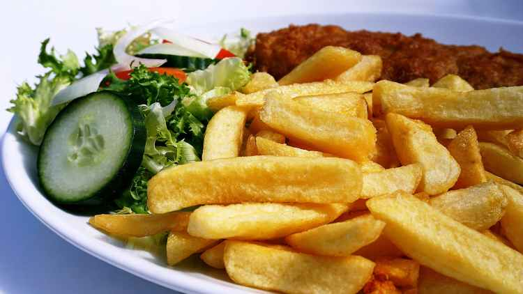takeaway fish and chips from Wollaston Inn