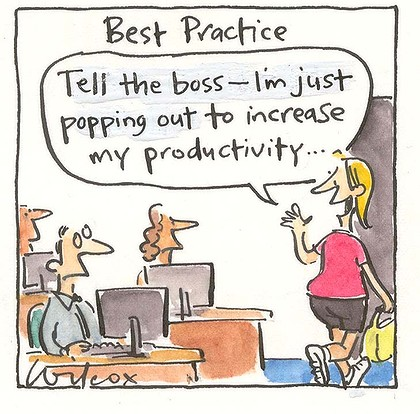 Exercise and Increase your Workplace Productivity by $2500