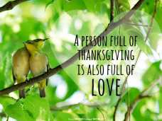 A person full of thanksgiving is also full of love (Good WORD Spread WORLD, excerpt from Pastor Jeong Myeong Seok's sermons)