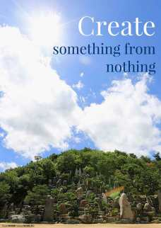 Create something from nothing (Good WORD Spread WORLD, excerpt from Pastor Jeong Myeong Seok's sermons)