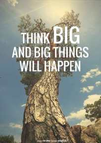 Think big and big things will happen (Good WORD Spread WORLD, excerpt from Pastor Jeong Myeong Seok's sermons)