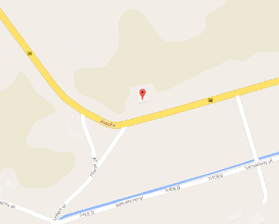 Map of where the Lord's Life Motel is in Geumsan