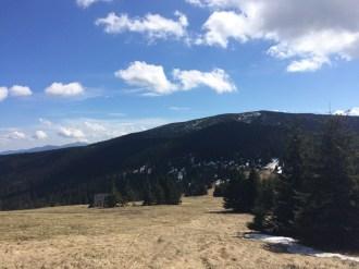 polana na szlaku miziowa trzy kopce