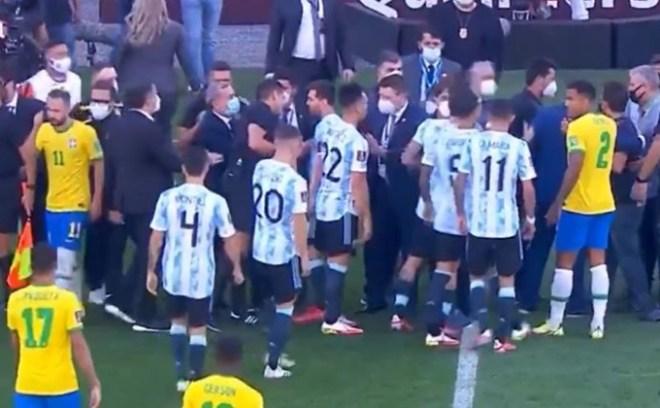 Brazylia - Argentyna Covid