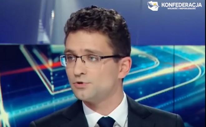 Michał Wawer w Polsacie