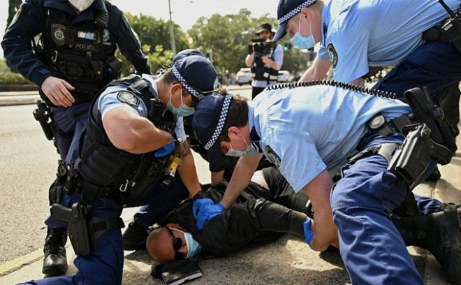 Protesty w Australii