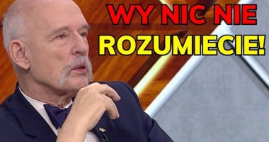 Janusz Korwin-Mikke wy nic nie rozumiecie
