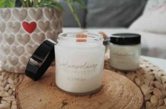 świeczki naturalne wosk rzepakowy olejki naturalne