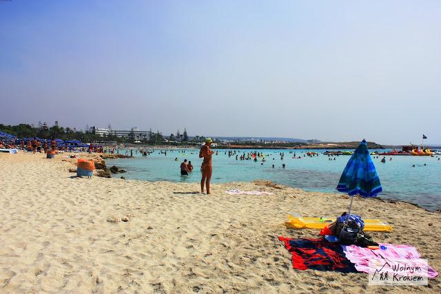 Aya Napa Nissi Beach plaże Cypr