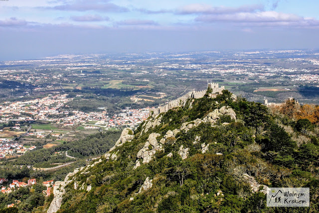 Sintra zamek Maurów Moorish castel