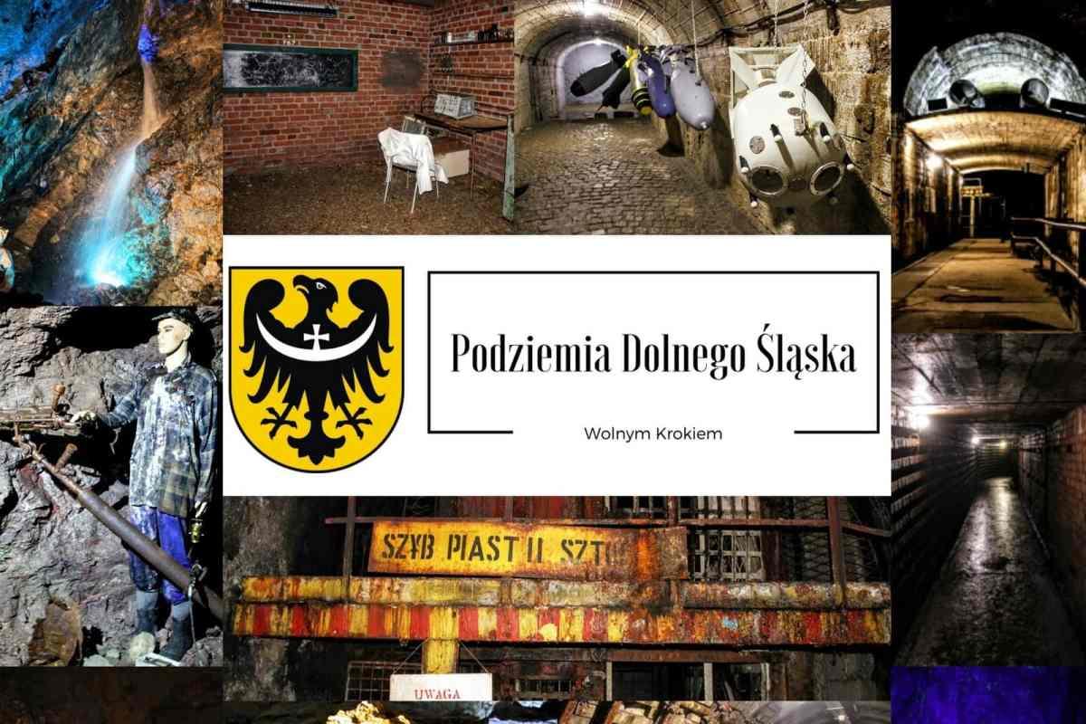 Podziemia Dolnego Śląska - kopalnie, sztolnie, jaskinie