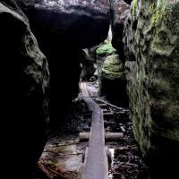Błędne skały | Skalny labirynt w Górach Stołowych