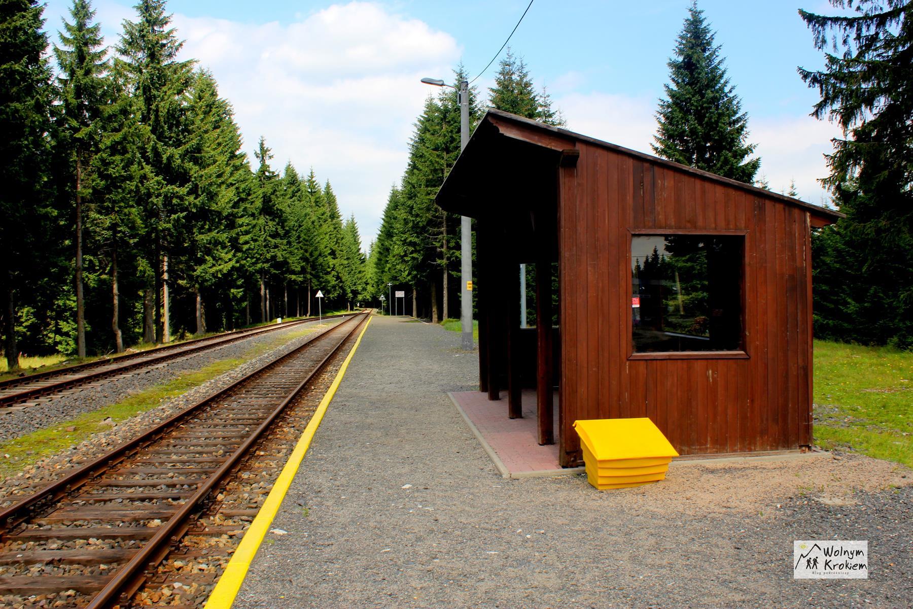 Jakuszyce najwyżej położony przystanek kolejowy w Polsce