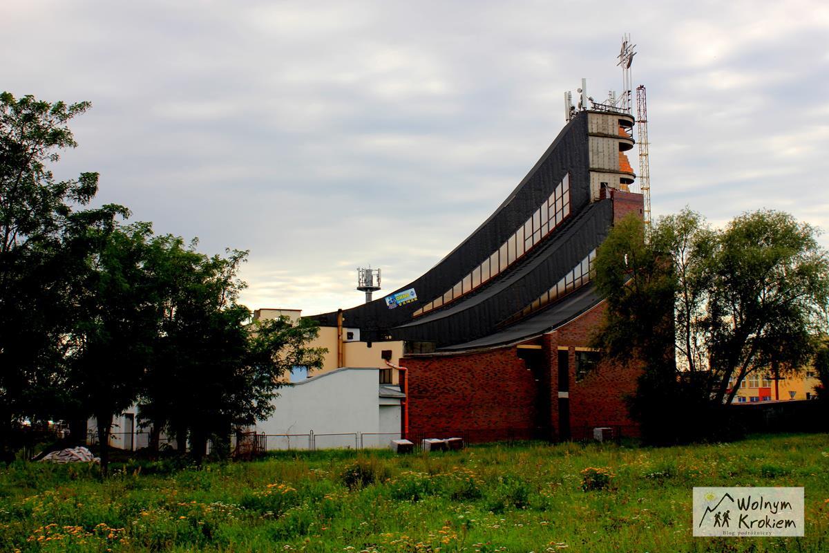 Kościół skocznia w Lubinie