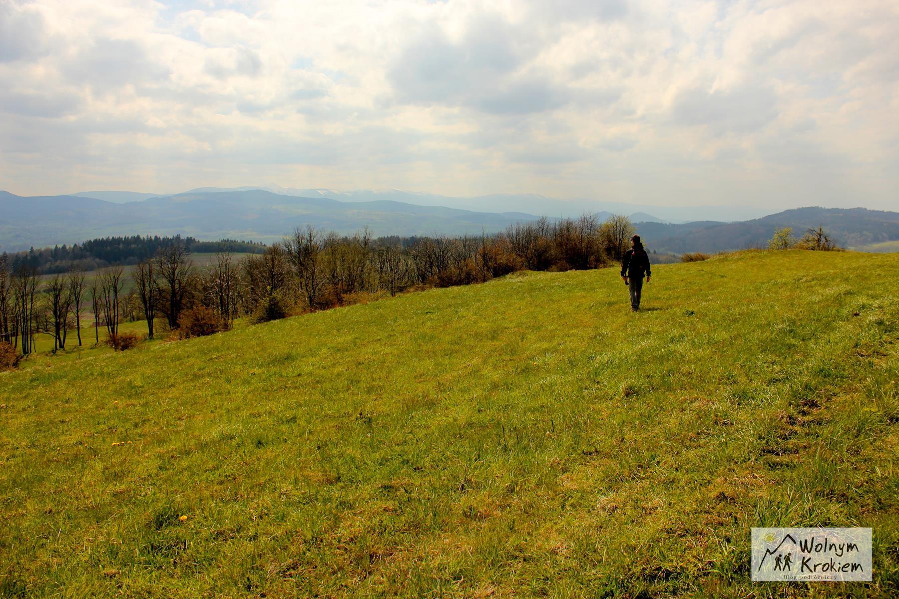 Widok ze szczytu Poręby
