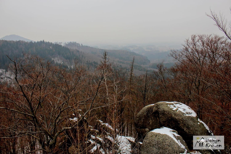 Ruiny Zamku Bolczów w Rudawach Janowickich