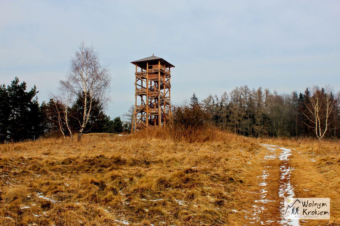 Wieża widokowa w Mieroszowie na Dolnym Śląsku