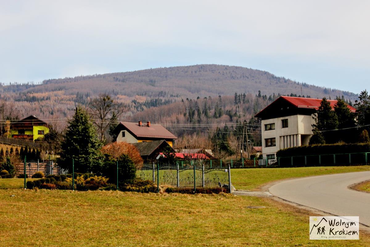 Widok na Klimczok z Brennej