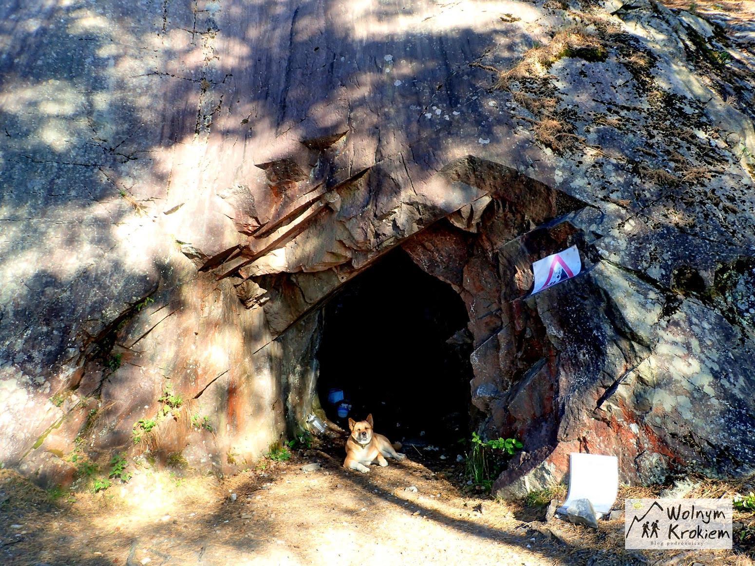 opuszczona kopalnia Spro Guvern Nesodden