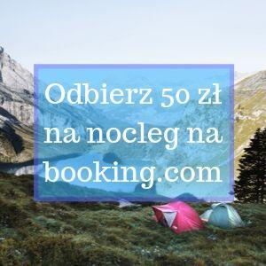 Odbierz bon na 50 zł na booking.com