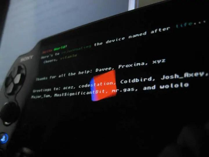 Vita hack rejuvenate running homebrew on ps vita