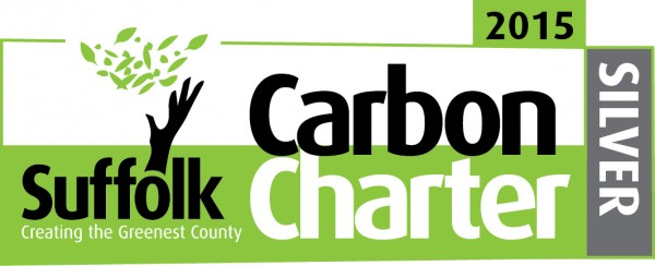 Suffolk Carbon Charter - Silver Award Winner