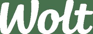 Wolt logo white