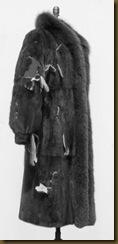 Improperly stored fur coat.