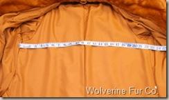 measuring underarm