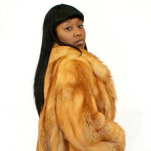 Vintage Red Fox Fur