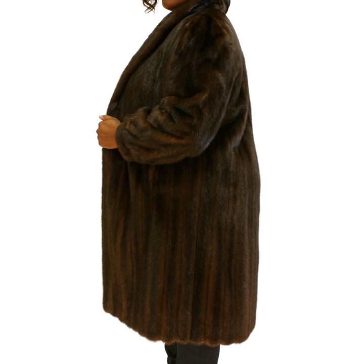 Brown Mink Plus Size 016762