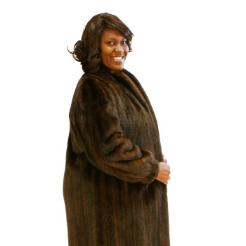 Brown Mink Plus Size 016762