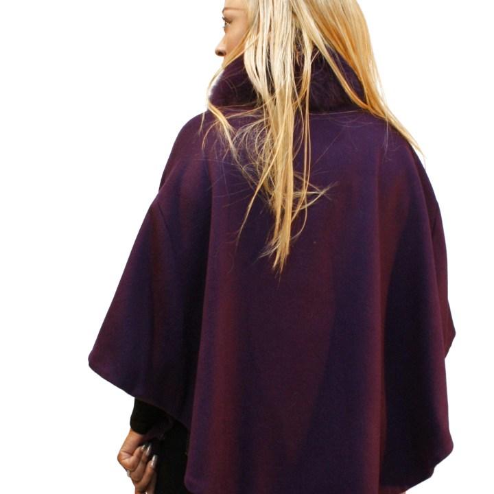 Purple Cashmere W/ Fox