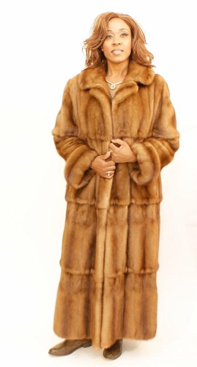 Demi-Buff Mink Swing Coat