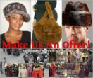 wolverine fur company annual make an offer sale fur hats coats and accessories
