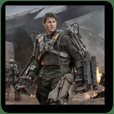 Edge of Tomorrow - Tom Cruise as William Cage