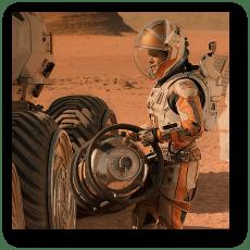 The Martian - Matt Damon as Mark Watney