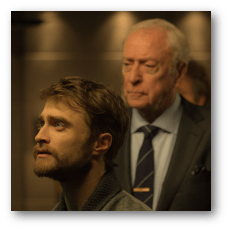 Now You See Me 2: Daniel Radcliffe as Walter Mabry, Michael Caine as Arthur Tressler
