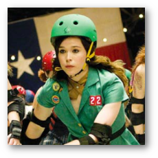 Whip It - Ellen Page as Bliss aka Babe Ruthless